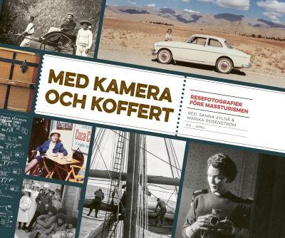 """Pärmen till """"Med kamera och koffert""""."""