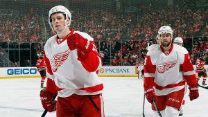 Dylan Larkin, spelare i Detroit Red Wings.
