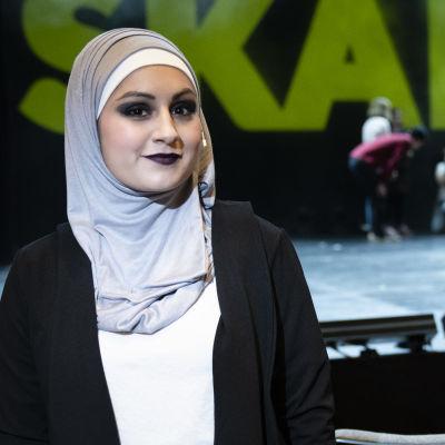 Yasmin Ahsanullah PLK näyttelijä Skam teatteri