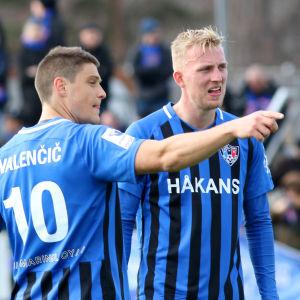 Filip Valencic och Daan Klinkenberg.