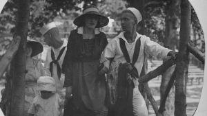 merisotilas ja nainen, I maailmansota