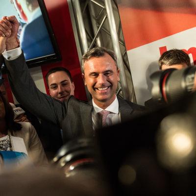 Österrikiska presidentkandidaten Norbert Hofer.