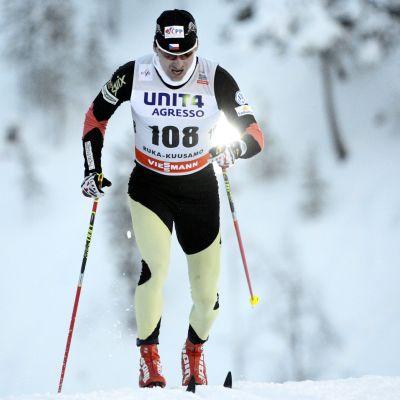 Lukas Bauer snabbast i Kuusamo.