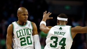 Ray Allen och Paul Pierce, 2011