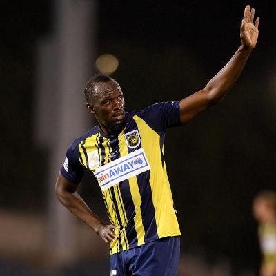 Usain Bolt vinkar