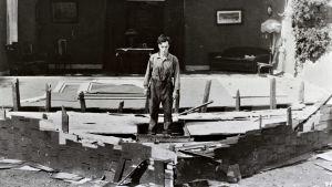 Buster Keaton elokuvassa Laivakalle nuorempi