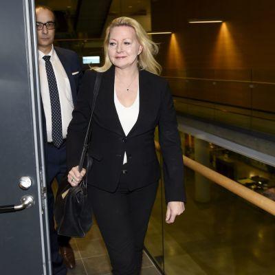 Merja Kasoi i tingsrätten den 19 december 2017.