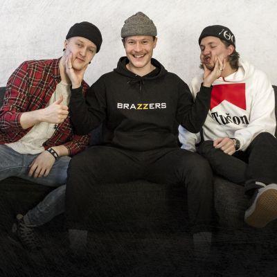 Pop punkia soittava Kätfish-yhtyeen promokuva.