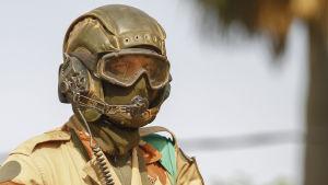 Fransk soldat i Mali 2013.