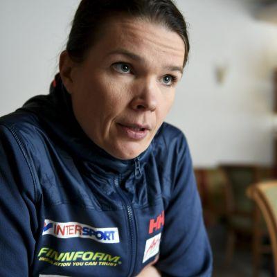Olympiakomitean ylilääkäri Maarit Valtonen