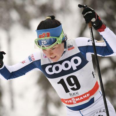 Krista Pärmäkoski i Lillehammer