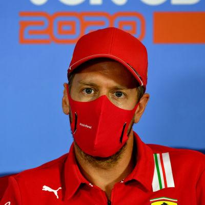 På torsdagen svarade Sebastian Vettel på frågor i Österrike.