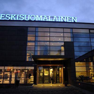 Keskisuomalainen -sanomalehden toimitalo Jyväskylässä.