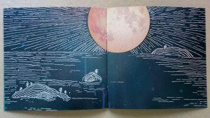 """Bild från Peter Hägerstrands skiva """"Den blåa skogen""""."""