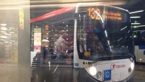 buss 132 i kampens bussterminal