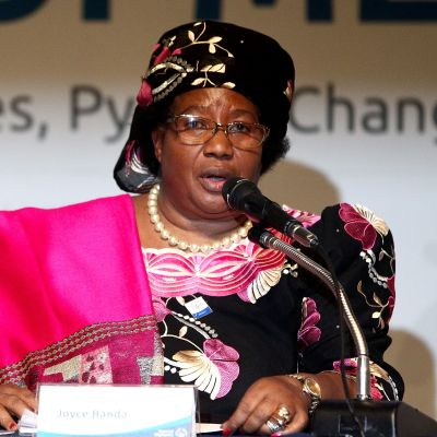 Joyce Banda har lett Malawi sedan president Bingu wa Mutharika dog