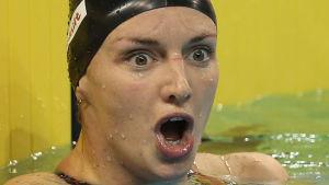 Katinka Hosszú har gjort tre världsrekord i kortbane-VM i Doha.