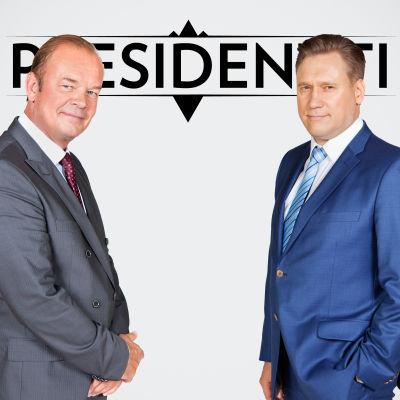 Presidentti-sarjan presidenttiehdokkaat rinnakkain.