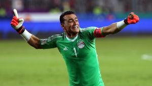 Essam El Hadary kan bli äldst av alla VM-spelare.