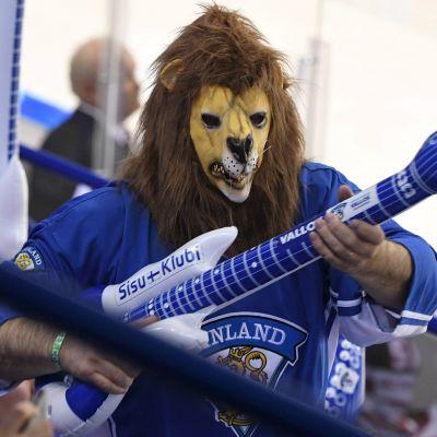 Finlands fans, ishockey-VM 2019.