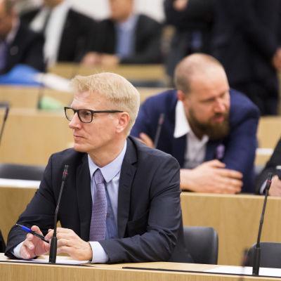 Riksdagsledamot Kimmo Tiilikainen (C)