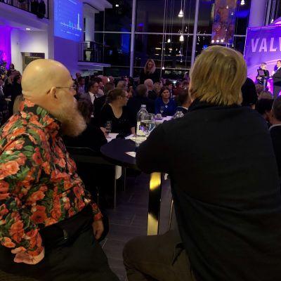 Valvaka på Åland 20.10.2019