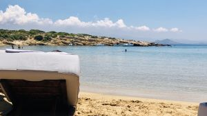 Strand i Grekland