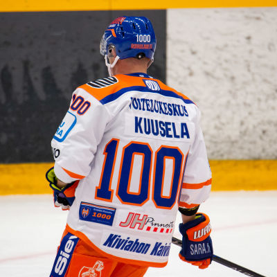 Kristian Kuusela med nummer 1000 på ryggen.