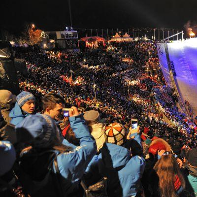 Olympiska vinterspelen för ungdomar 2012 ordnades i Innsbruck.