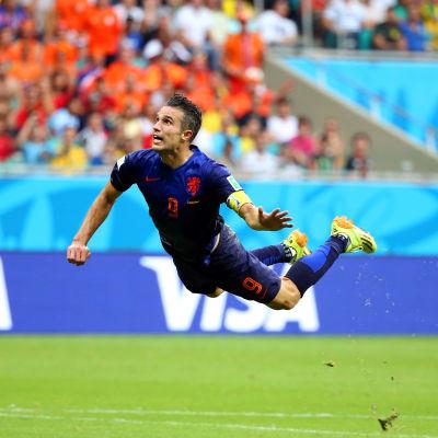 Robin van Persie - den flygande holländaren.