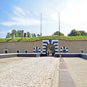Ingången till fästningen