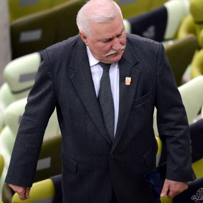 Polens förre president Lech Wa??sa