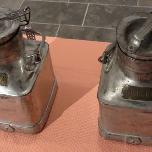 Mjölkhinkar från Ainola utställda på Träskända konstmuseum