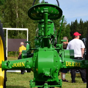 En John Deere veterantraktor