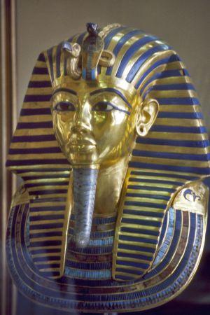 Fara Tutankhamos dödsmask