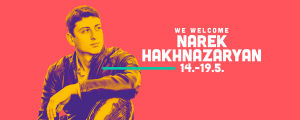kuvassa sellisti Narek Hakhnazaryan