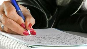 Päiväkirjaa kirjoitetaan