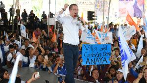 Den mexikanske presidentkandidaten Ricardo Anaya