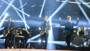 Softengine på Eurovisionsscenen.