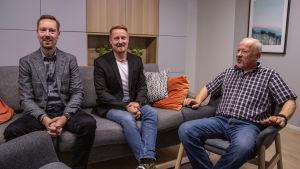 Timo, Tomi ja Jukka Autere.