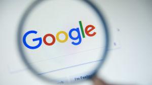 En bild på Googles logo.