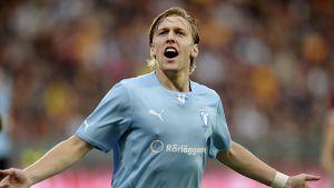Emil Forsberg gjorde Malmös mål i Österrike