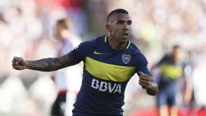 Carlos Tevez i Boca Juniors.