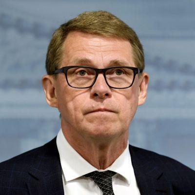 Porträttbild av finansminister Matti Vanhanen