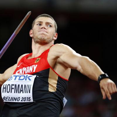 Andreas Hofmann förbättrade sitt personliga rekord med över två och en halv meter.