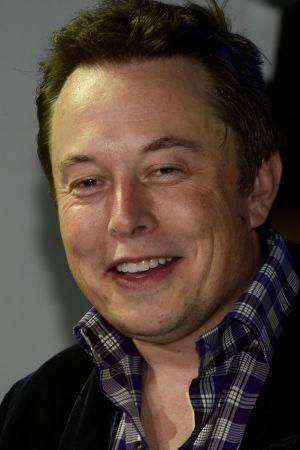 Elon Musk, storägare i Tesla Moters, SpaceX och SolarCity