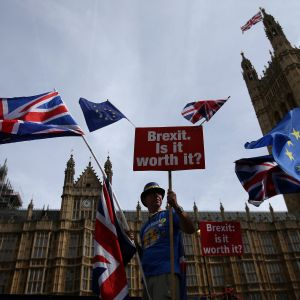 Brexit-demonstration i London