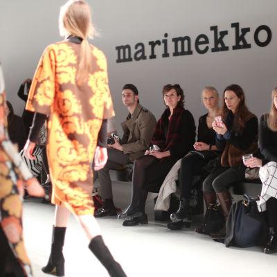 Marimekko presenterade höst och vintermodet 2016 i Paris