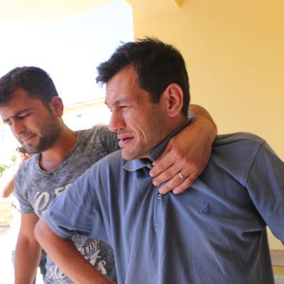 Abdullah Kurdis fru och två små barn drunknade i Medelhavet.