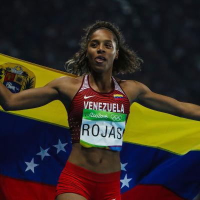 Yulimar Rojas vann OS-silver i tresteg.